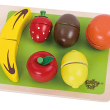 Frutas con tabla Tooky Toy