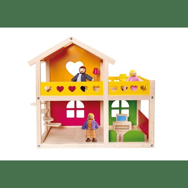 Casa dos pisos Happy Villa