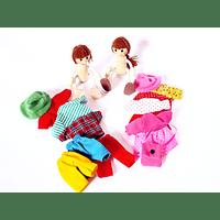 Muñecos cambia ropa