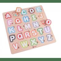 Encaje abecedario