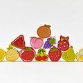Set de Cuentas Frutas