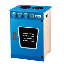 Cocina de Madera Azul