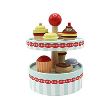 Juego de Pastelería y Cupcakes de Madera.