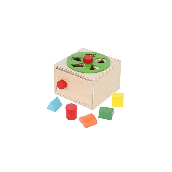 Caja De Clasificación Formas Y Colores