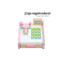 Caja Registradora Rosada