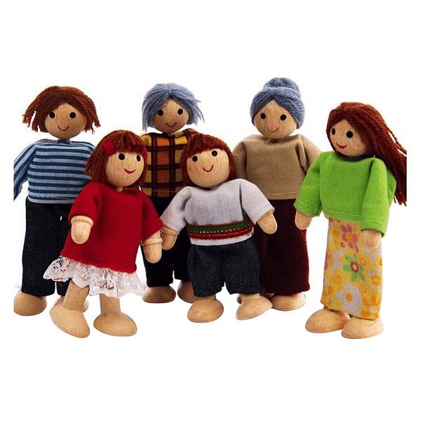 Familia Muñeca Miniatura