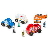 4 Vehículos de Emergencia