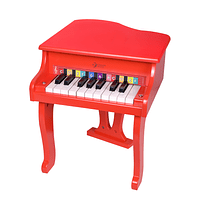 Piano Rojo de Cola