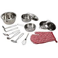 20% - Set de cocina de acero inoxidable