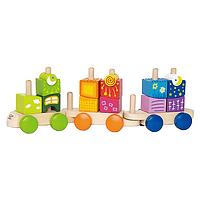 Tren colores