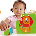 Puzzle Cubos Zoo