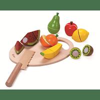 Frutas con Velcro