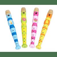 Flauta de madera