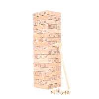 Torre bloques yenga madera