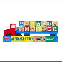 Camión de Madera Alfabeto