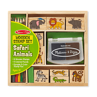 Stamp Safari de Madera