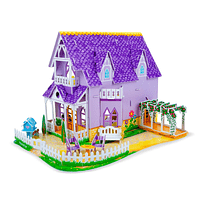 Puzzle 3D casa de muñecas