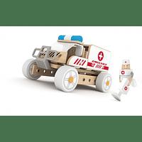 Carro de Ambulancia Armable