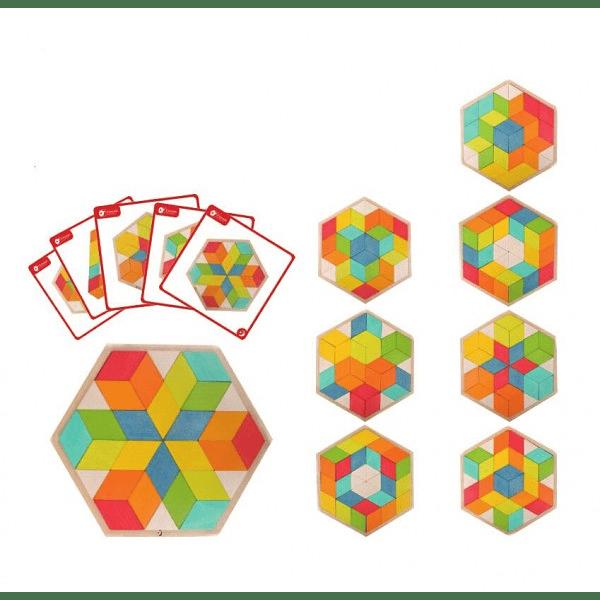 Puzzle 3D de Madera