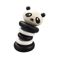 Sonajero Panda de Madera