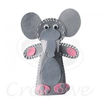 Títere Pañonelci Para Armar Elefante