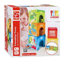 Cajas de cartón apilables Pepe and Friends
