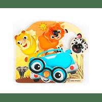 Puzzle Safari Faces
