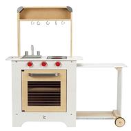 Cocina de madera / Carro de comida