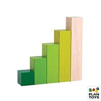 Bloques de madera - orden decreciente