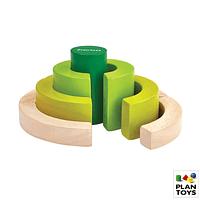 Bloques de madera curvados - Plantoys