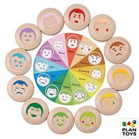 Memorice emociones de madera - juego