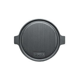 Grill redondo reversible