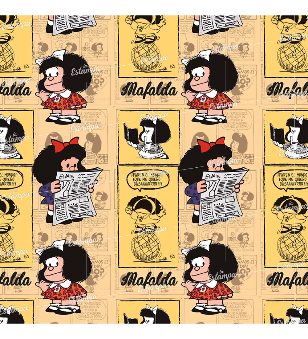 La Estampa PER_115 Mafalda