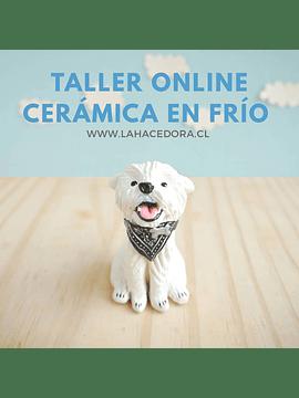 TALLER ONLINE CERÁMICA EN FRÍO