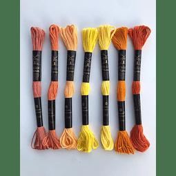 Molino Madejitas Naranjas y Amarillos