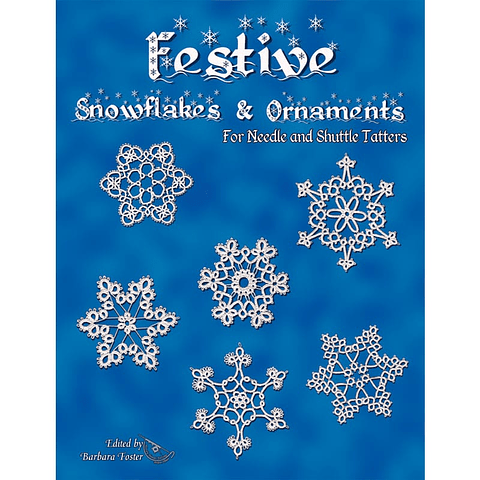 Libro de Frivolité - Festive Snowflakes & Ornaments