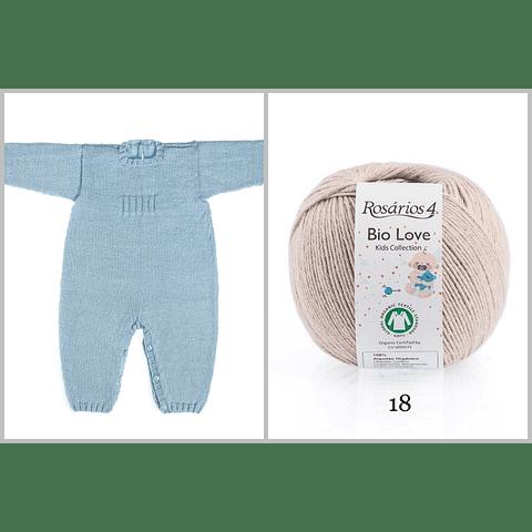 LIQUIDACIÓN - Kit de Tejido para Bebé - Bio Love
