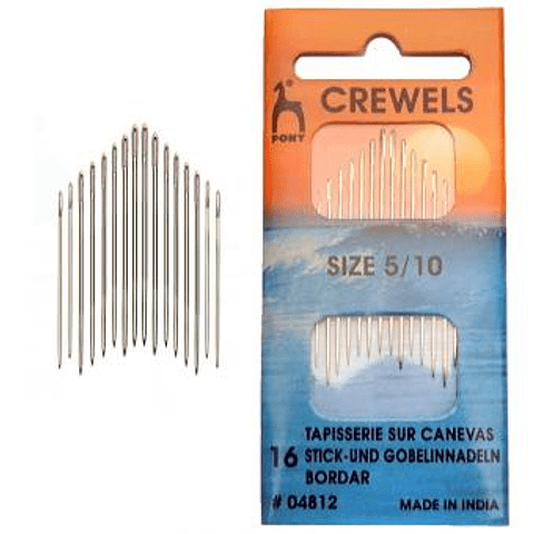 Set Agujas para Bordar Pony Crewels 5/10