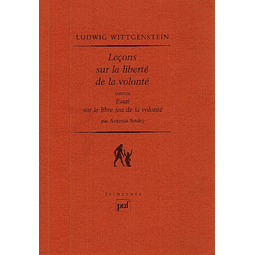 LEÇONS SUR LA LIBERTÉ DE LA VOLONTÉ