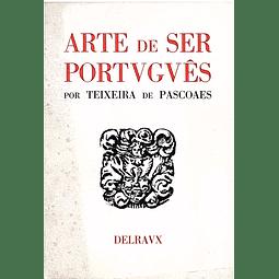 ARTE DE SER PORTUGUÊS