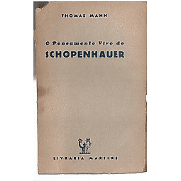 O PENSAMENTO VIVO DE SCHOPENHAUER