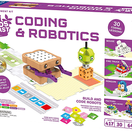 KIT DE ROBÓTICA PARA NIÑO - CODING AND ROBOTICS KIDS FIRST