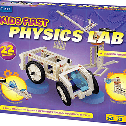 KIT DE ROBÓTICA PARA NIÑOS - PHYSICS LAB KID FIRST