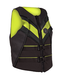 LIQUID FORCE CHALECO RUSH CGA BLACK/LIME (ENTREGA OCTUBRE 2020)