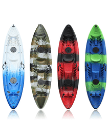 KAYAK DOBLE DIFERENTES COLORES DEEP BLUE