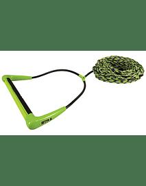 CUERDA WAKEBOARD STRAIGHT LINE STR 5 EVA GREEN (ENTREGA DICIEMBRE 2020)