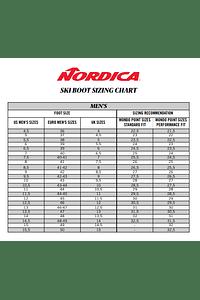 NORDICA BOTA SKI STRIDER 120 DYN RANDONE GREY-BLACK-GREEN