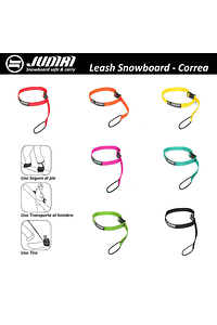 JUDIRI LEASH SNOWBOARD