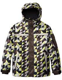 Grenade Parka Hombre Q Squared Lime