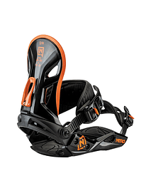 Nitro Fijación Snowboard Rental Orange